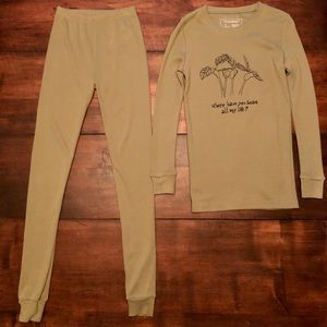 L'oved Baby Pajama Shirt and Pants Size 10